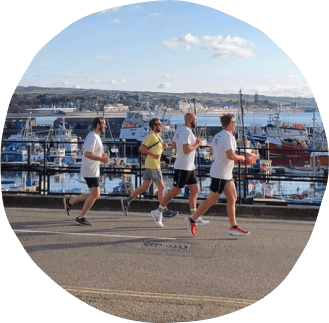 Penwith Welcomes Refugees Sponsored Run - Aleppo to Penzance